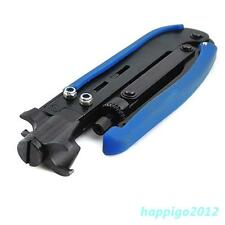 High Quality New RG6 RG11 Coaxial Cable Crimper Compression Tool For FConnecto