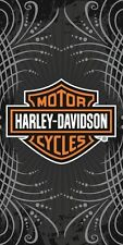 Harley Davidson Motorcycle Gray Vibe FULLY LICENSED souvenir Velour Beach Towel