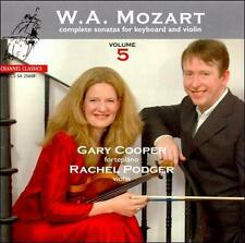 Mozart: Complete Sonatas for Keyboard and Violin, Vol. 5