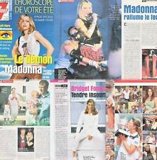 Tele 7 Jours Madonna,Michael J.Fox,Bridget Fonda,Jennifer Capriati