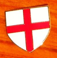 England Cross of St George flag large enamel shield pin badge
