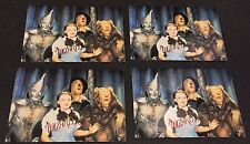 THE WIZARD OF OZ 1996  DuoCards LOT of ( 4 ) Promo Cards #1 RAINBOW FOIL Dorothy