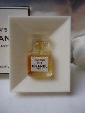 CHANEL No5 1.5ml PARFUM EXTRACT VINTAGE 1970-80s MICRO MINIATURE NEAR MINT COND
