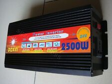 5000W WATT Peak Real 2500 2500W Power Inverter 24V DC to 220V AC CE NEW