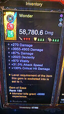 Diablo 3 ULTIMATE POWER LEVELING HARDCORE AND SOFTCORE FOR XBOX 1
