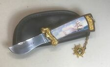 Vintage LE Franklin Mint Collector Knife Cutty Sark China Stainless W/Case