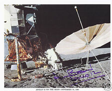 ALAN BEAN SIGNED APOLLO 12 NASA 8x10 LITHOGRAPH - UACC RD AUTOGRAPH
