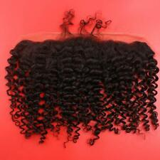 BRAZILIAN LACE FRONTALS 13X4 Ear To Ear KINKY CURL 14 INCHES 8A SAME DAY  SHIP