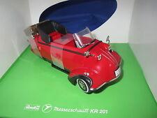 Revell  08966  Messerschmitt  KR  201 Roadster  (rot/schwarz)  1:18  OVP