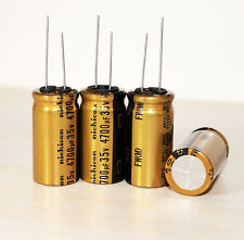 4PCS Japan Nichicon 4700uF/35V GOLD MUSE FW Audio Electrolytic Capacitor