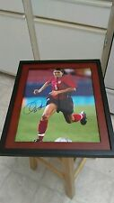Mia Hamm USA Women's Soccer Signed  11x14 Framed Photo