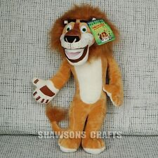 "MADAGASCAR PLUSH STUFFED TOYS THE LION 10"" ALEX SOFT DOLL FIGURE"