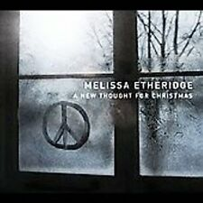 MELISSA ETHERIDGE - A NEW THOUGHT FOR CHRISTMAS - NEW - SEALED CD