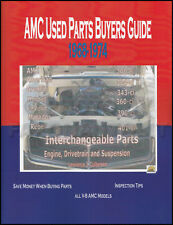 AMC Rebel Parts ID and Interchange Manual 1968 1969 1970 SST Machine 68 American