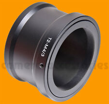 T2 T lens to Micro Four Thirds m4/3 mount adapter Olympus PEN Panasonic Lumix
