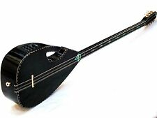 THUNDER :: TURKISH HALF CUT ELECTRIC LONG NECK SAZ WITH EQUALIZER AND FREE BELT