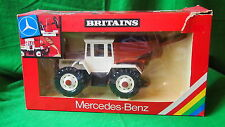 VINTAGE BRITAINS MERCEDES BENZ 1500 TRAC TRACTOR & TIPPING HOPPER #9597 1/32