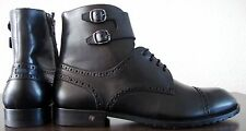 Joop! Boots hommes tige Bottes Cheville Bottes Chaussures véritable cuir taille 42 NEUF