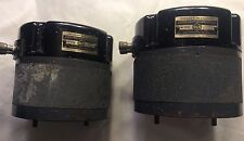 Pair RCA horn driver Speaker Mechanism MI-9458 vintage western electric era