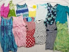 Large Lot of 13 Girls Peplum Party Casual Dresses Size 5 6