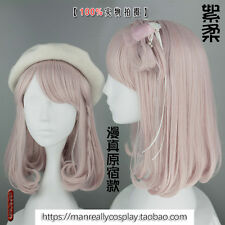 Japanese Harajuku Cute Sweet Lolita Pink Cosplay Daily curly Princess Wig #MZ11