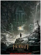 THE HOBBIT 2 Désolation de Smaug Affiche Cinéma / Movie Poster PETER JACKSON