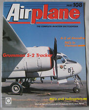 Airplane Issue 108 Grumman S-2 Tracker cutaway, Mil civil Helicopters
