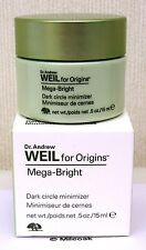 Origins Mega Bright Dark Circle Minimizer Eye Cream 15ml - NEW - BOXED