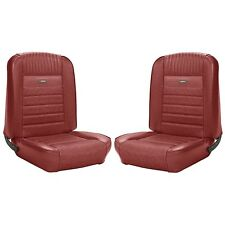 1966 66 Mustang Coupe Front Rear Seat Covers DARK RED TMI In Stock Free Shipping