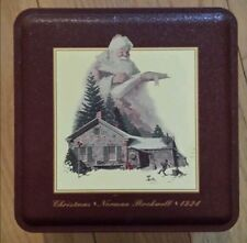 1993 Snickers Norman Rockwell Christmas Tin