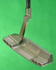 "Machine Putters M2A Converter 303 Stainless 35"" Milled Putter w/ Fatback Flange"