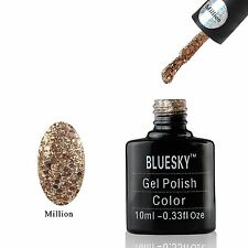 Bluesky Limited Edition MILLION UV/LED Soak Off Gel  Nail Polish 10ml