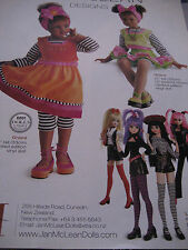 Jan McLean Doll GRACE & LOLLIPOP GIRLS  Ad / Advertisement ONLY