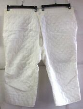 UNISSUED SNOW CAMO M-65 COLD WEATHER QUILTED ARCTIC PANTS LINER (XL REG/SHT)