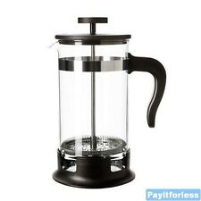 French Coffee Tea Press Pot Maker Plunger Cafetiere 8 Cup 34 oz