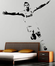 Soccer Wall Stickers Home Decor Wall sticker PVC Vinyl Removable Art Mural GIFT