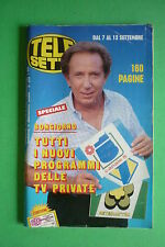 TELE SETTE 37/1986 MIKE BONGIORNO ALIEN ELVIRE AUDRAY WHITNEY HOUSTON M.CARLUCCI
