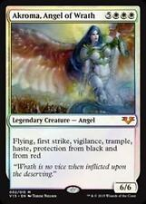 Foil AKROMA, ANGEL OF WRATH From the Vault: Angels MTG White Creature Rare