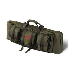 HOMCOM Single Rifle Bag Case Tactical Weapon Gun Pouch Magazine Storage Hunting