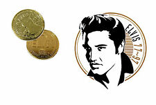 Elvis presley-hound dog 24Kt plaqué or grand casino coin