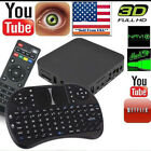 Android Quad-Core WiFi Kodi 1080P Smart set TV Box 1G/8GB XBMC kod Fully Loaded
