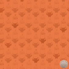 140138937 - Despicable Me Minion Movie Kevin Orange Blender Tonal Fabric Yard