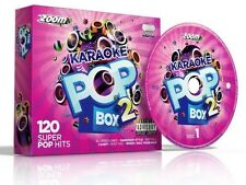 Cdg - Zoom Karaoke Pop Box 2 - 6 Cdgs 120 Songs