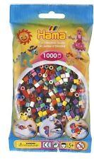 Hama - 207-67 Sachet 1000 Perles à repasser Multicolore