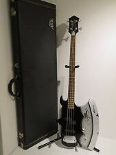 Genuine Gene Simmons Axe Signed & Numbered Bass Guitar #00117 + Hard Case