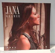 JANA KRAMER SIGNED 8x10 AUTOGRAPH MUSIC 8x8 PRESS PHOTO
