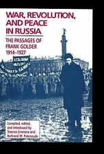 War, Revolution, and Peace in Russia: The Passages of Frank Golder, 19-ExLibrary
