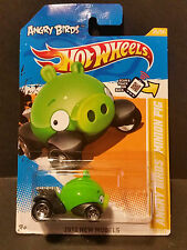 2012 Hot Wheels #035 2012 New Models 35/50 - Angry Birds - Minion Pig