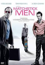Matchstick Men (NEW DVD, 2004, Widescreen) Nicholas Cage, Sam Rockwell