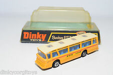 DINKY TOYS 293 SWISS PTT BUS VICEROY COACH NEAR MINT BOXED